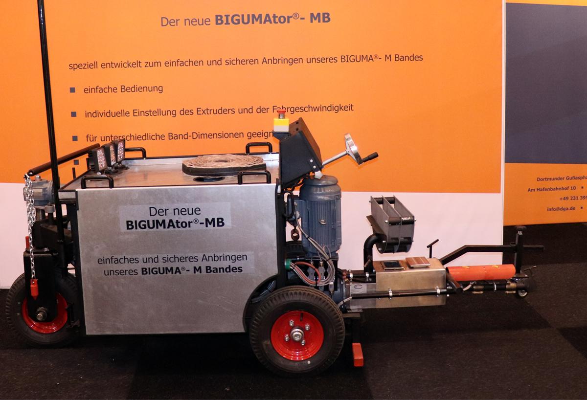 Der neue BIGUMAtor-MB der dga-Gruppe